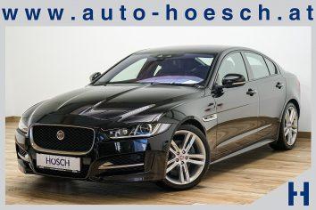 Jaguar XE R-Sport 2.0d Aut. Xenon/Navi/Keyless/++ bei Autohaus Hösch GmbH in Pasching Point 9<br />4061 Pasching