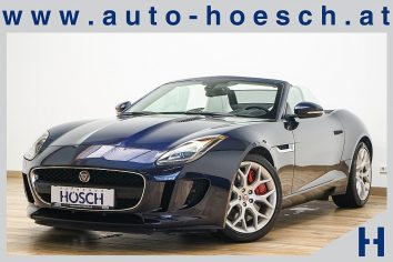 Jaguar F-Type 3,0 Aut. 19er/Meridian380/Memory/++ bei Autohaus Hösch GmbH in Pasching Point 9<br />4061 Pasching