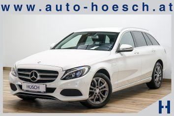 Mercedes-Benz C 220d T Avantgarde 4MATIC Aut. LED/Navi/AHK/++ LP: 60.010.- € bei Autohaus Hösch GmbH in Pasching Point 9<br />4061 Pasching