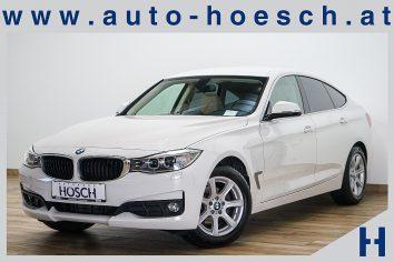BMW 320d Gran Turismo Aut. Navi-Prof./Leder/AHK/++ LP:54.518.- € bei Autohaus Hösch GmbH in Pasching Point 9<br />4061 Pasching