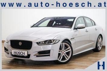 Jaguar XE R-Sport 2.0d Aut. Xenon/Navi/Keyless/++ LP 59.748,-€ bei Autohaus Hösch GmbH in Pasching Point 9<br />4061 Pasching