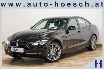 BMW 318d Sport Line Aut. LED/Business-Paket Plus/++LP: 57.311 .-€ bei Autohaus Hösch GmbH in Pasching Point 9<br />4061 Pasching