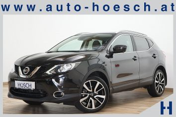 Nissan Qashqai 1,6 dCi Aut. Tekna LED/19er/Pano/++ LP: 37.937,-€ bei Autohaus Hösch GmbH in Pasching Point 9<br />4061 Pasching