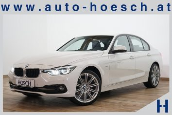 BMW 320d xDrive Sport Line Navi/LED/++ LP:50.959.- € bei Autohaus Hösch GmbH in Pasching Point 9<br />4061 Pasching