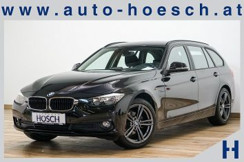 BMW 316d Touring Advantage PDC/Tempomat++ LP:41.502.- € bei Autohaus Hösch GmbH in Pasching Point 9<br />4061 Pasching