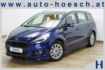 Ford S-MAX Titanium X 2.0 TDCi Aut. AWD/Navi/LED/LP: 56.300.-€ bei Autohaus Hösch GmbH in Pasching Point 9<br />4061 Pasching