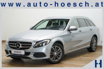Mercedes-Benz C 220d T Avantgarde 4MATIC Aut. LED/Navi+ LP: 59.985.-€ bei Autohaus Hösch GmbH in Pasching Point 9<br />4061 Pasching