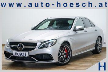 Mercedes-Benz C 63 AMG S Aut. ACC/Burmester/Designo +++ LP: 114.066,- € bei Autohaus Hösch GmbH in Pasching Point 9<br />4061 Pasching