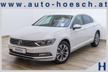 VW Passat Highline 2.0 TDI  Navi/ACC/Kamera  LP:40.207.-€ bei Autohaus Hösch GmbH in Pasching Point 9<br />4061 Pasching