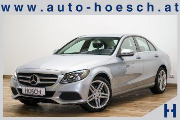 Mercedes-Benz C 220d Aut. Leder/Navi/Tempomat ++ LP: 48.437.- € bei Autohaus Hösch GmbH in Pasching Point 9<br />4061 Pasching