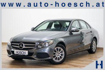 Mercedes-Benz C 200d Leder/AHK/Sitzheizung++ LP: 42.760.- € bei Autohaus Hösch GmbH in Pasching Point 9<br />4061 Pasching