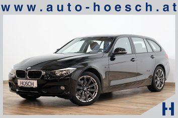 BMW 320d Touring Aut. Navi/AHK/++ LP:47.509.- € bei Autohaus Hösch GmbH in Pasching Point 9<br />4061 Pasching