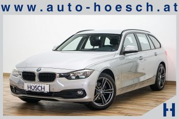 BMW 316d Touring Advantage PDC/AHK/Tempomat++ LP:42.678.- € bei Autohaus Hösch GmbH in Pasching Point 9<br />4061 Pasching