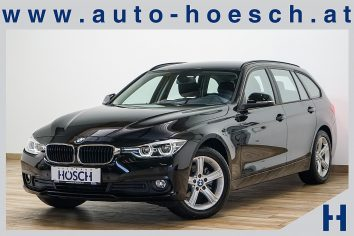 BMW 318d Touring Aut. Advantage Navi/LED/PDC++ LP:48.679.- € bei Autohaus Hösch GmbH in Pasching Point 9<br />4061 Pasching