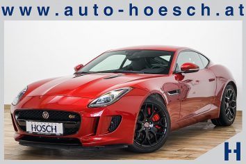 Jaguar F-Type S Aut. Performance/BlackPack/Meridian/++ LP: 119.482,- bei Autohaus Hösch GmbH in Pasching Point 9<br />4061 Pasching