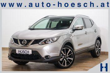 Nissan Qashqai 1,5 dCi  Tekna LED/19er/Pano/Leder++ LP: 34.067.-€ bei Autohaus Hösch GmbH in Pasching Point 9<br />4061 Pasching
