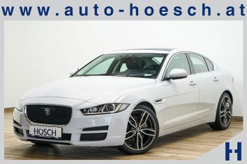 Jaguar XE Prestige Aut. ACC/Navi/Pano++ LP 56.598,-€ bei Autohaus Hösch GmbH in Pasching Point 9<br />4061 Pasching