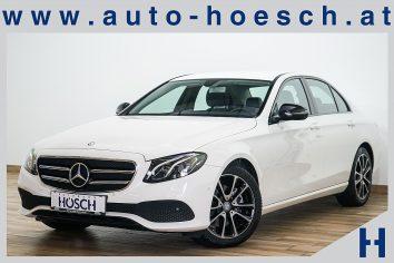 Mercedes-Benz E 220d Aut. Avantgarde LED/NAVI/KAMERA/AHK LP:60.365.-€ bei Autohaus Hösch GmbH in Pasching Point 9<br />4061 Pasching