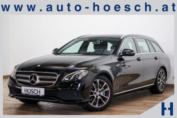 Mercedes-Benz E 350d T Aut. Avantgarde LED/COMAND/KAMERA++ LP:78.350.-€ bei Autohaus Hösch GmbH in Pasching Point 9<br />4061 Pasching