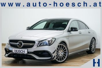 Mercedes-Benz CLA 45 AMG 4MATIC Aut. Designo/LED/ACC LP: 84.326.-€ bei Autohaus Hösch GmbH in Pasching Point 9<br />4061 Pasching