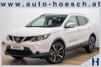 Nissan Qashqai 1,5 dCi  Tekna LED/19er/Pano/Leder++ LP: 34.116.-€ bei Autohaus Hösch GmbH in Pasching Point 9<br />4061 Pasching