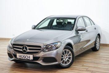 Mercedes-Benz C 220d Aut. Leder/Navi/Kamera ++ LP: 48.567.- € bei Autohaus Hösch GmbH in Pasching Point 9<br />4061 Pasching
