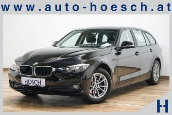 BMW 320d Touring Aut. Sitzheizung/Regensensor/++ LP: 45.834.- € bei Autohaus Hösch GmbH in Pasching Point 9<br />4061 Pasching