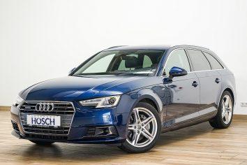 Audi A4 Avant 2,0 TDI Sport S-tronic quattro S-Line/ACC/Navi-MMI/AHK++ LP:65.893.-€ bei Autohaus Hösch GmbH in Pasching Point 9<br />4061 Pasching