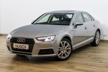Audi A4 1.4 TFSI Smartphone Paket/Einparkhilfe+++ LP: 37.617.- € bei Autohaus Hösch – Jahreswagen und Tageszulassungen zum besten Preis in Pasching Point 9<br />4061 Pasching