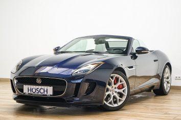Jaguar F-Type 3,0 Aut. 19er/Meridian380/Memory/++ LP: 109.859.-€ bei Autohaus Hösch – Jahreswagen und Tageszulassungen zum besten Preis in Pasching Point 9<br />4061 Pasching