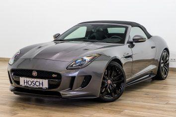 Jaguar F-Type S AWD Aut. 20er/BlackPack/Meridian/++ LP: 140.130,- bei Autohaus Hösch – Jahreswagen und Tageszulassungen zum besten Preis in Pasching Point 9<br />4061 Pasching