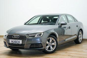 Audi A4 2,0 TDI Sport S-tronic Navi MMIplus/Einparkhilfe++LP: 48.960.-€ bei Autohaus Hösch – Jahreswagen und Tageszulassungen zum besten Preis in Pasching Point 9<br />4061 Pasching
