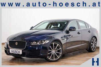 Jaguar XE 20d Prestige Aut. Xenon/Navi/18Zoll/ ++ LP 54.747,-€ bei Autohaus Hösch – Jahreswagen und Tageszulassungen zum besten Preis in Pasching Point 9<br />4061 Pasching