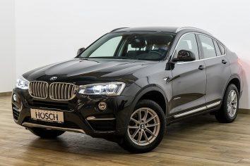 BMW X4 xDrive 20d X-Line Aut. Navi/LED/Leder+++LP: 66.352.- € bei Autohaus Hösch – Jahreswagen und Tageszulassungen zum besten Preis in Pasching Point 9<br />4061 Pasching