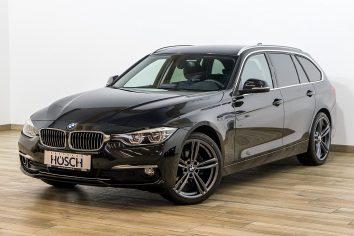 BMW 316d Touring Luxury Line Aut. LED/Leder/AHK++ LP:51.979.- € bei Autohaus Hösch GmbH in