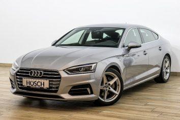 Audi A5 Sportback 2,0 TDI Sport S-tronic LED/MMIplus/Virtual Cockpit LP: 57.381.- € bei Autohaus Hösch – Jahreswagen und Tageszulassungen zum besten Preis in Pasching Point 9<br />4061 Pasching
