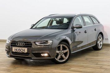 Audi A4 2,0 TDI Kombi NAVI/XENON/Einparkhilfe Plus/18er+++ bei Autohaus Hösch – Jahreswagen und Tageszulassungen zum besten Preis in Pasching Point 9<br />4061 Pasching