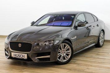 Jaguar XF 20d AWD R-Sport Aut. NaviPro/HUD/Meridian++ LP: 75.104,- € bei Autohaus Hösch GmbH in