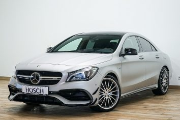 Mercedes-Benz CLA 45 AMG 4MATIC Aut. Designo/LED/ACC LP: 84.326.-€ bei Autohaus Hösch GmbH in