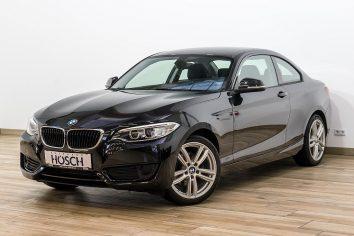 BMW 220d Coupe Aut.  LP:40.035.- € bei Autohaus Hösch GmbH in