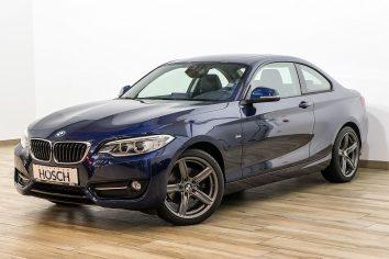 BMW 220d Coupe Aut. Sport Line  LP:50.628.- € bei Autohaus Hösch GmbH in