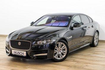 Jaguar XF 20d AWD R-Sport Aut. VOLL  LP: 75.104,- € bei Autohaus Hösch GmbH in
