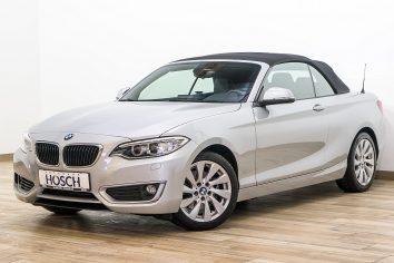 BMW 220d Cabrio Aut.   LP:53.193.- € bei Autohaus Hösch GmbH in