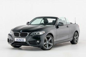 BMW 220d Advantage Cabrio Aut. LP:53.447.- € bei Autohaus Hösch GmbH in