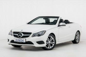 Mercedes-Benz E 200 Cabrio Aut.  LP:64.255.-€ bei Autohaus Hösch GmbH in