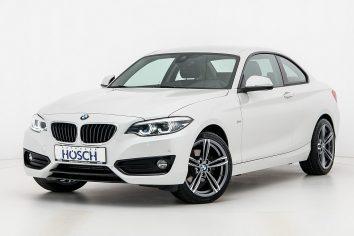 BMW 220d Coupe Aut. Sport Line  LP:51.335.- € bei Autohaus Hösch GmbH in