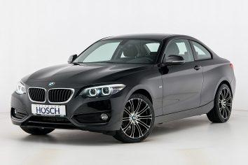 BMW 218d Coupe Aut. Sport Line LP:45.482,- € bei Autohaus Hösch GmbH in