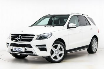 Mercedes-Benz ML 350d Bluetec 4Matic AMG-Line Aut. LP:91.981.-€ bei Autohaus Hösch GmbH in