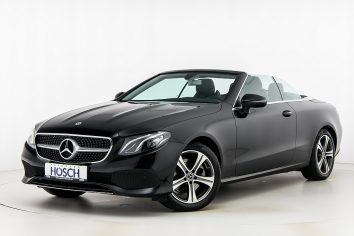 Mercedes-Benz E 200 Cabrio Avantgarde Aut.  LP:71.465.-€ bei Autohaus Hösch GmbH in