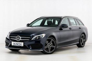 Mercedes-Benz C 220d Kombi Aut. AMG-Line  LP: 60.410.- € bei Autohaus Hösch GmbH in
